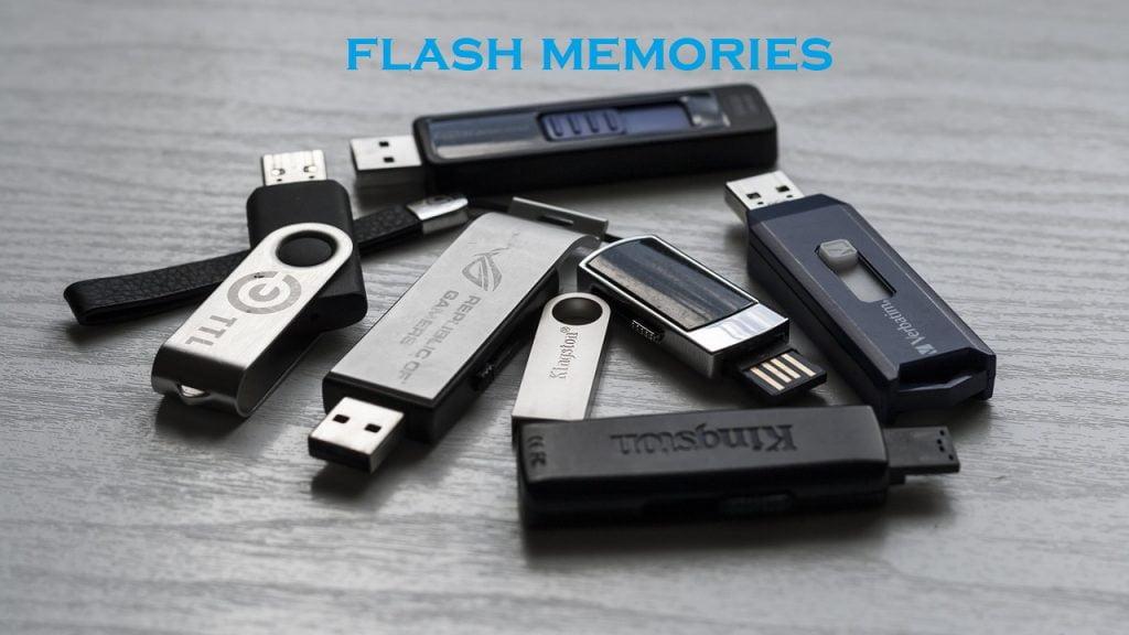 ¿Qué es una memoria flash?