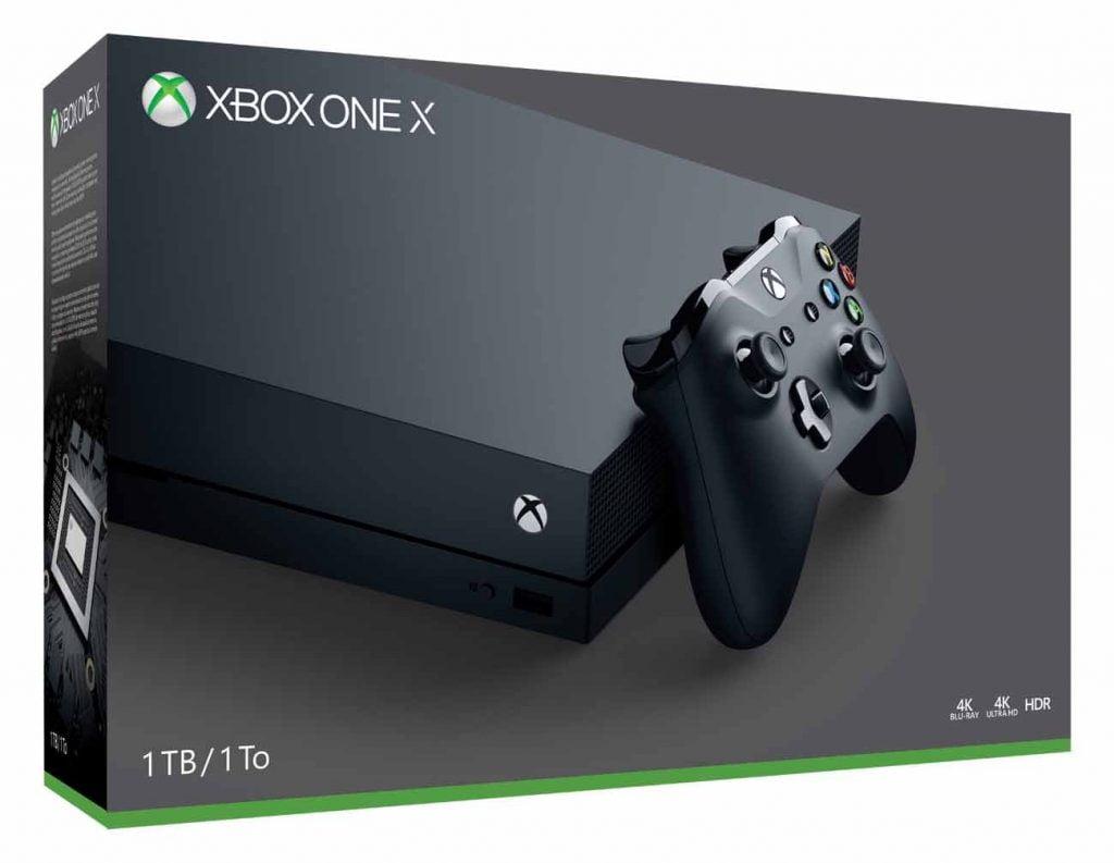 Revisión de la videoconsola Xbox One X.
