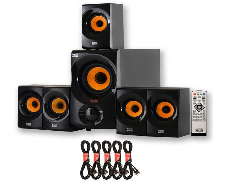Acoustic Audio AA5170 Home Theater 5.1 en Los Mejores Sistemas de Audio para el Hogar