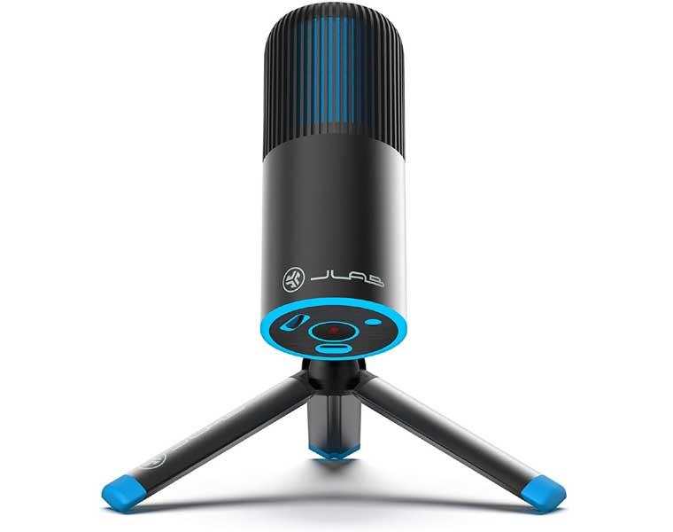 JLab Audio Talk Go USB Microphone en Los Mejores Micrófonos para Streaming