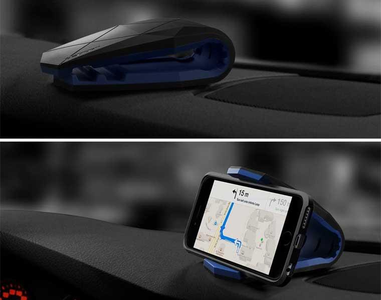 Spigen Kuel K40 Car Mount en Los Mejores Soportes de Teléfonos para Autos