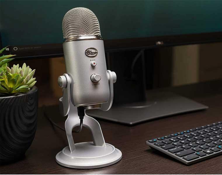 Yeti Blue en Los Mejores Micrófonos para Streaming