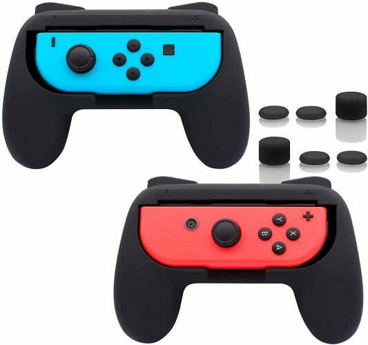 Mejores accesorios para Nintendo Switch como complementos de los Joy-Cons.