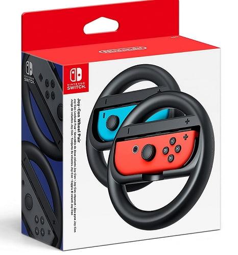 Volantes para Nintendo Switch.