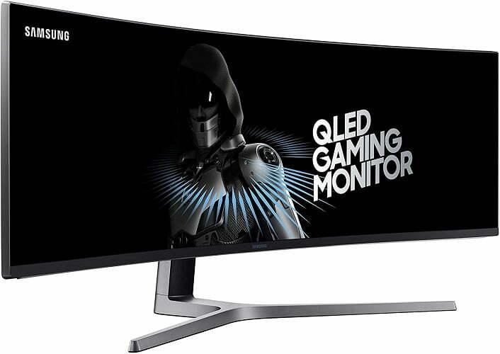 """Samsung CHG90 49 """": el número uno entre los mejores monitores ultra anchos."""