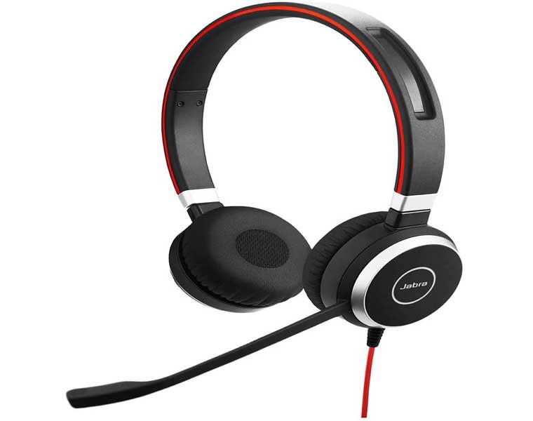 Jabra Evolve 40 Stereo UC en Los Mejores Auriculares USB